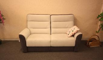 Salon ROCCHETTI canapé MONFORT en 180 et 200 tissu en deux couleurs.